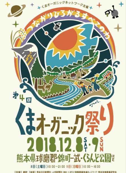 くまオーガニック祭りポスター